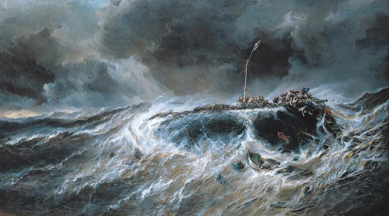 shipwreck-louis-isabey