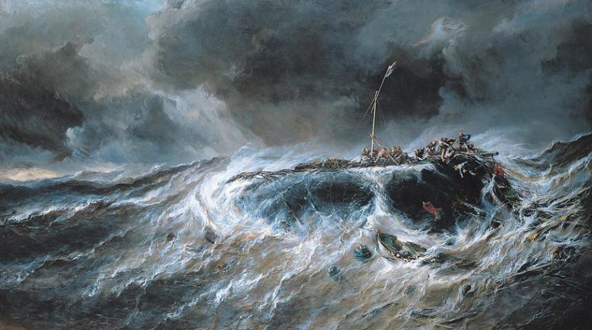 shipwreck-louis-isabey