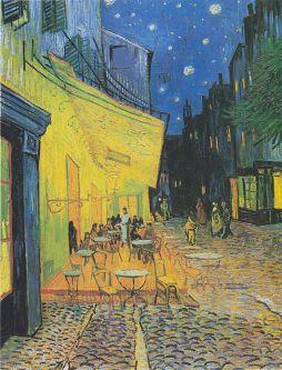 """""""Cafe Terrace at Night"""" Original"""